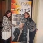 Cu Ioana Mirica si Afisul. :)